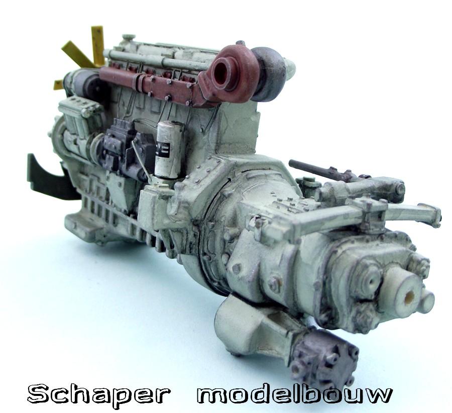 Rolls Royce Motor Schaper Modelbouw